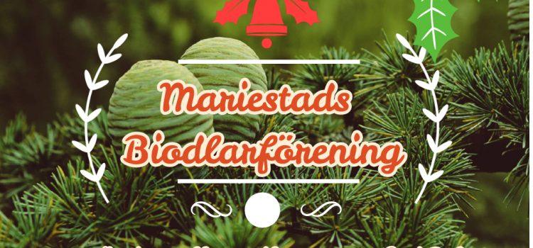 Sista onsdagsträffen samt honungsförsäljning för i år 16/12